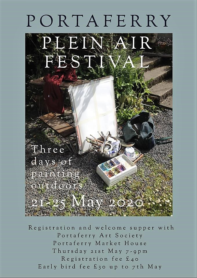 Portaferry Plein Air Festival Poster